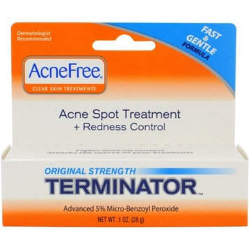 AcneFree Terminator, 1-Ounce Tube (Pack of 3)