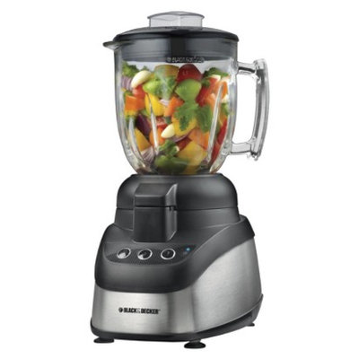 Black & Decker 2-in-1 Food Processor and Blender - 10 Cup