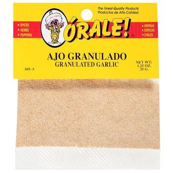 Orale Granulated Garlic, 1.25 oz