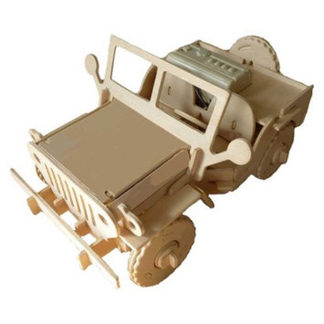 Regal Robotime 3D Wooden Robotic Puzzle Off Road Utility