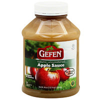 Gefen Natural Unsweetened Apple Sauce