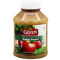 Gefen Natural Unsweetened Apple Sauce