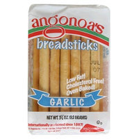 Angonoa's Breadsticks, Garlic, 3.25-Ounce Bags (Pack of 12)