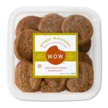 WOW Baking Company Gluten Free Cookies Tub - Ginger Molasses - 12 oz