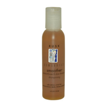Sensories Smoother Passionflower & Aloe Shampoo by Rusk for Unisex - 4 oz Shampoo