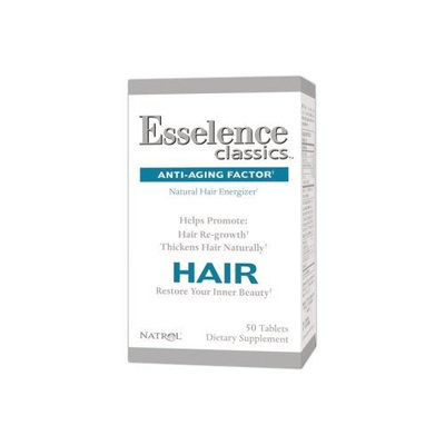 Natrol Esselence Hair Essentials Tablets, 50-Count