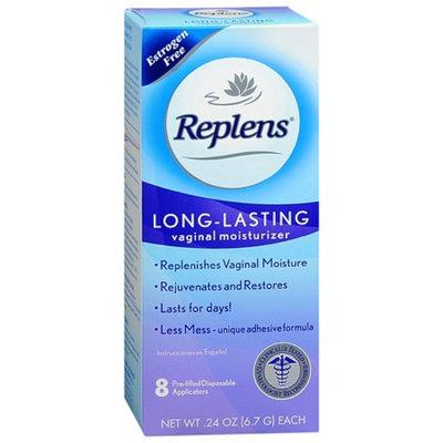 Replens Long-Lasting Vaginal Moisturizer Applicators 8 Pack