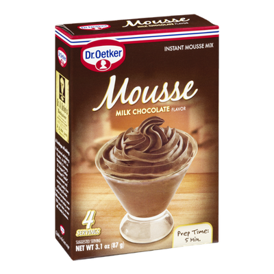 Dr. Oetker Mousse Instant Mix Milk Chocolate