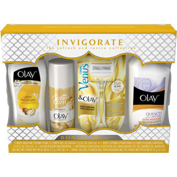 Olay & Venus Invigorate The Refresh and Revive Collection Gift Set