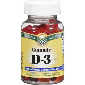 Spring Valley Vitamin D-3 Gummies