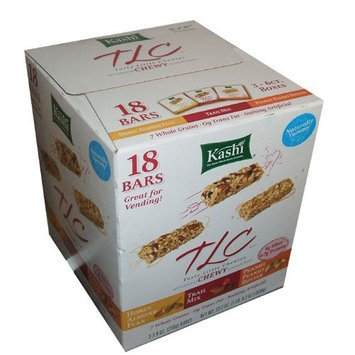 Kashi Chewy Granola Bars Variety - 18 ct. (6 Honey Almond Flax, 6 Trail Mix, 6 Peanut Peanut Butter)