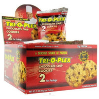Carbessentials Tri-O-Plex Cookies - Chocolate Chip