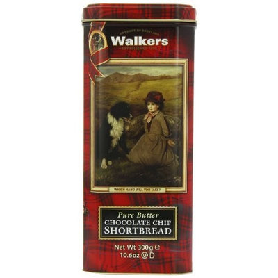 Walkers Shortbread Chocolate Chip Shortbread, 10.6-Ounce Which Hand? Tin