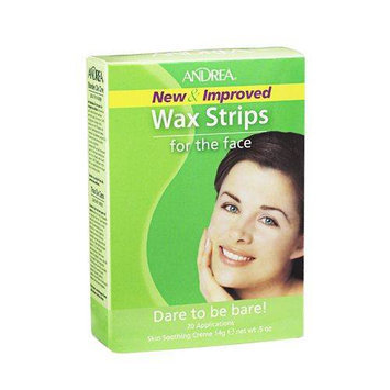 Andrea Wax Strips for The Face 20 Applications
