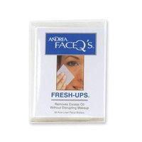 Andrea Face Q's Fresh-Ups Linen Facial Blotters (65 Count)