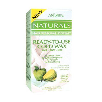 Andrea Naturals Hair Removal System Ready-to-Use Cold Wax