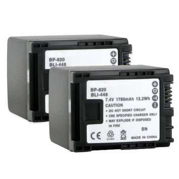 Canon Camcorder Batteries (2-Pack) Camcorder Batteries