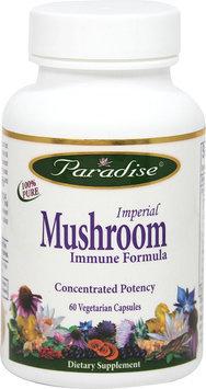 Paradise Herbs Imperial Mushroom Immune Formula 60 Vegetarian Capsules