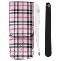 Mundial Bc-402 De Cuidado Pessoal Kit Includes Slanted Edge Tweezers Nail File & Pouch