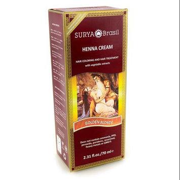 Surya Brasil: Natural Henna Cream, Golden Blonde 2.31 oz