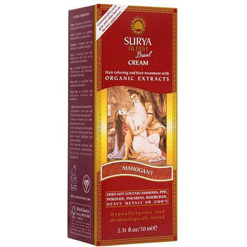 Surya Brasil - Henna Brasil Cream Hair Coloring with Organic Extracts Mahogany - 2.31 oz.