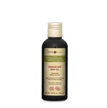 Amazonia Preciosa Body Care Massage Oil Surya Nature, Inc 4.05 oz (120ml) Liquid
