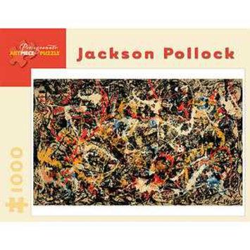 Pomegranate Communications Jackson Pollck Convergence Puzzle 1000 Pcs Ages 12+, 1 ea