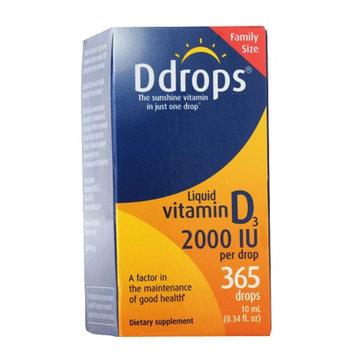 Ddrops Vitamin D3 2000 IU