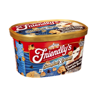 Friendly's SundaeXtreme Chocolate Chip Cookie Dough Frozen Dairy Dessert