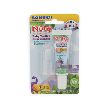 Nuby Infant's All Natural Toothpaste & Toothbrush Massage - TALBOTS