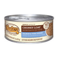 Nutro Natural Choice Adult Chunky Loaf Salmon & Tuna Dinner Canned Cat Food