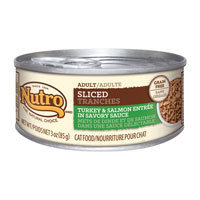 Nutro Natural Choice Adult Sliced Turkey & Salmon Entree Canned Cat Food 24/3-oz cans
