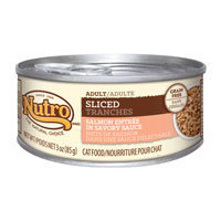 Nutro Natural Choice Adult Sliced Salmon Entree Canned Cat Food