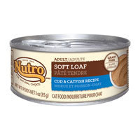 Nutro Natural Choice Adult Soft Loaf Cod & Catfish Recipe Canned Cat Food 24/3-oz cans