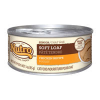 Nutro Natural Choice Soft Loaf Chicken Senior Recipe Canned Cat Food 24/3-oz cans