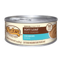 Nutro Natural Choice Senior Soft Loaf Cod Recipe Canned Cat Food 24/3-oz cans
