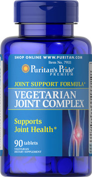 Puritan's Pride 2 Units of Vegetarian Glucosamine MSM Joint Complex-90-Tablets