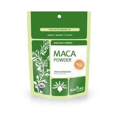 Navitas Naturals Organic Raw Maca Powder, 1 Pound Pouches