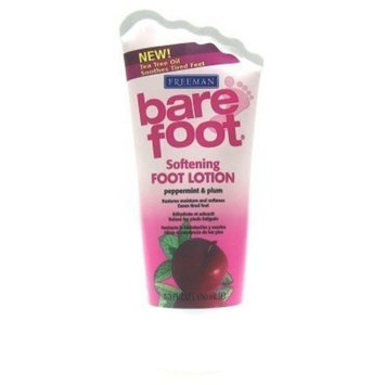 Freeman Beauty Freeman Bare Foot Lotion Peppr Mint & Plum 5.3 oz. (Case of 6)