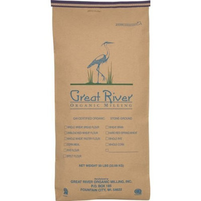 Great River Organic Milling Organic Whole Grains Hulled Millet, 50-Pounds