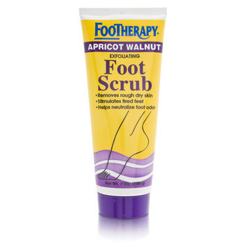 Queen Helene Footherapy Apricot Walnut Exfoliating Foot Scrub