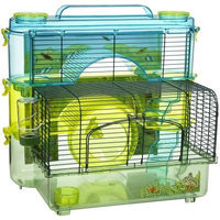 Sam Penn-Plax Rainforest Jungle Hamster Home - 3-Story