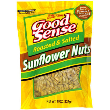 Good Sense: Sunflower Nuts Roasted & Salted, 10 Oz