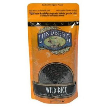 Lundberg Family Farms Wild Rice, Exotic & Savory Wild Grain, 8 OZ (Pack of 6)