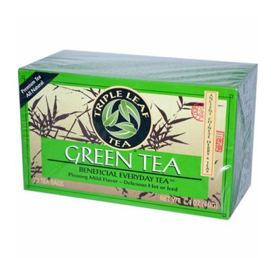 Triple Leaf Tea Green Tea Case of 6 20 Bags