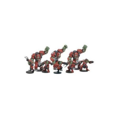 Dreadball: Greenmoon Smackers Team Booster (9 Figures)