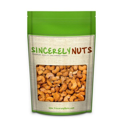 Sincerely Nuts Cashews Honey Roasted, 5 LB Bag