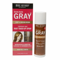 Marc Anthony True Professional Bye. Bye Gray Temporary Gray Root Touch Up Spray, Light to Medium Brown, 1.5 oz