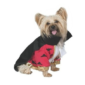 Seasons Costumes Deluxe Vampire Pet Halloween Costume