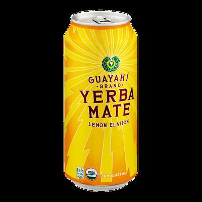 Guayaki Brand Yerba Mate Lemon Elation